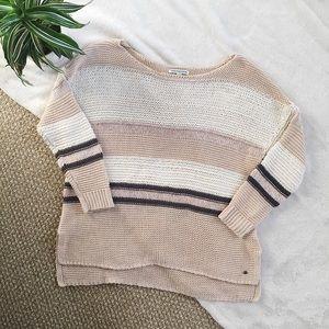 American Eagle Striped Knit